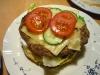 Burger Schritt 6 - Tomate und Gurke